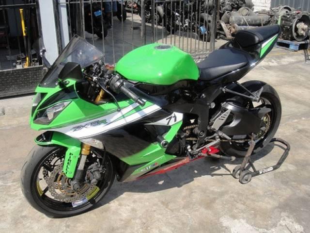 Kawasaki ZX6R automático frenos delantero y trasero $9.500