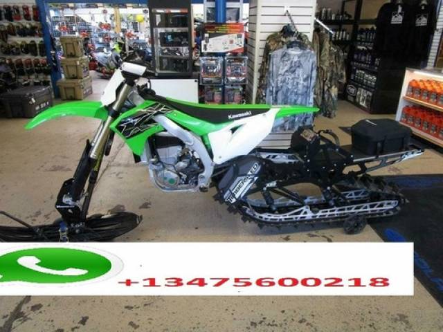 Kawasaki KX450 Aro black $13.540