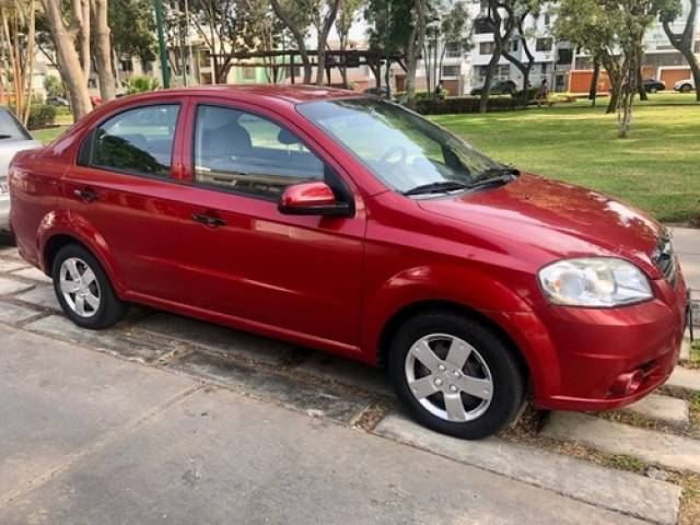 Chevrolet Aveo Sedan usado dirección hidráulica 1400 Lima