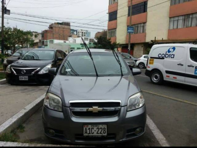 Chevrolet Aveo Auto Sedan usado gNV y Gas Gasolina