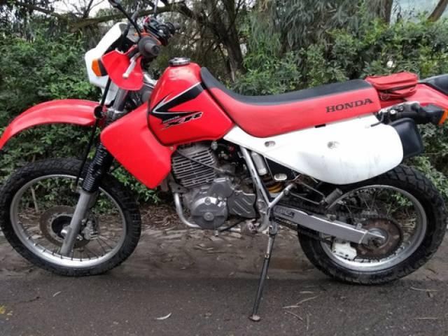 Honda XR650L Usado 4 tiempos rojo Lima